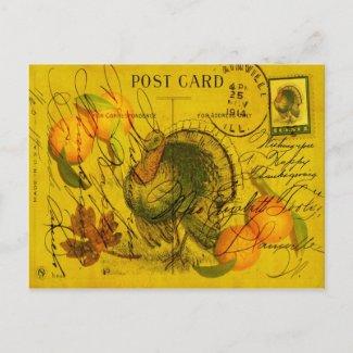 A Bountiful Thanksgiving Postcards