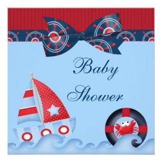 Nautical Baby Shower Nautical Baby Shower Favors