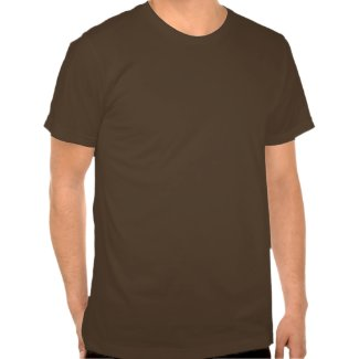 A cartoon giraffe T-shirt shirt