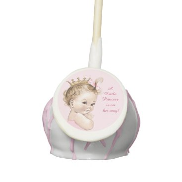 A Little Princess Baby Shower Cake Pops