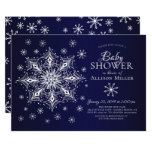 A Little Snowflake Winter Baby Shower Invitation