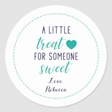 A Little Treat for Someone Sweet Sticker