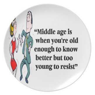 A perfect description of middle age plate