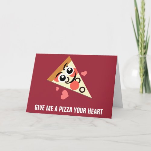 A Pizza Your Heart Holiday Card
