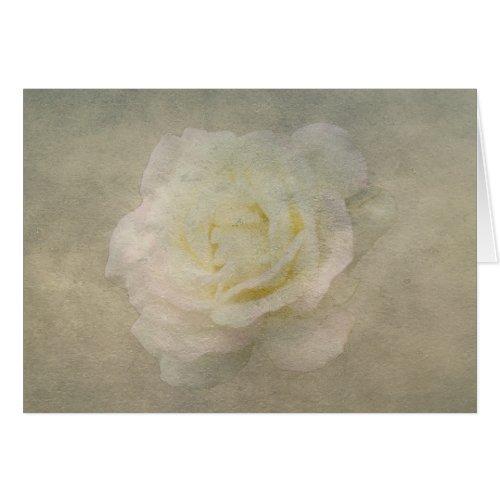 A Vintage Rose Romance Greeting Card