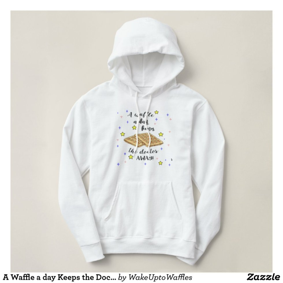A Waffle a day Keeps the Doctor Away! T-shirt