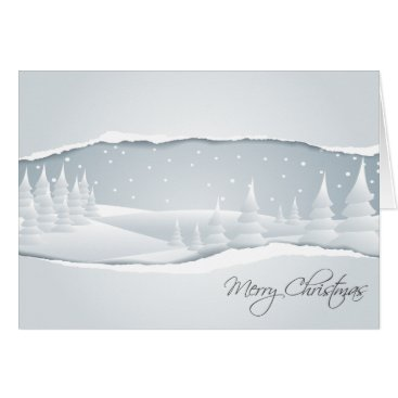 A White Christmas Card
