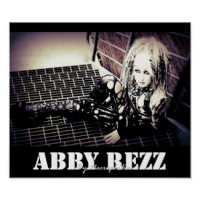 Abby Rezz Gothic Poster