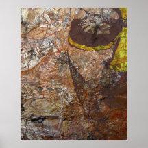 Aboriginal dreaming print
