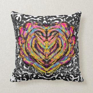 Abstract Angel Art Pillow
