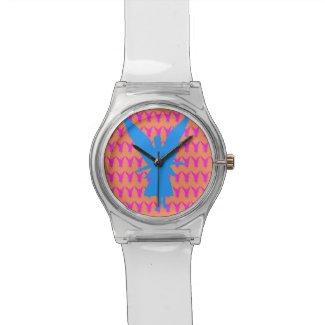 Abstract Angel Art Unisex Watch