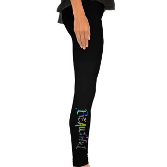 Abstract BEAUTIFUL spandex/cotton Leggings