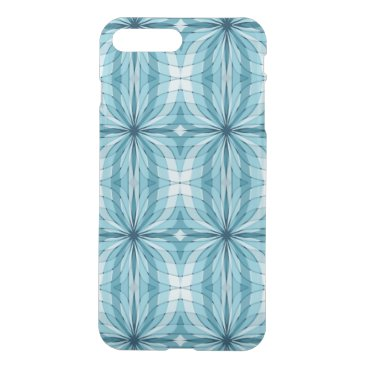 Abstract Curves and Lines blue iPhone 8 Plus/7 Plus Case