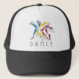 Abstract Dancers Dancing - Dance Lover Artwork Trucker Hat