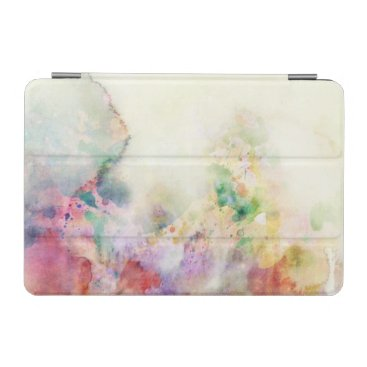 Abstract grunge texture with watercolor paint iPad mini cover