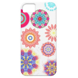 Abstract mandala floral pattern iphone cases iPhone 5 covers
