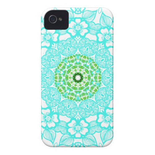 Abstract pattern mandala iphone 4 cases casemate_case