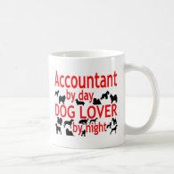 Accountant Dog Lover Coffee Mug