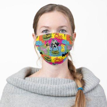 Action Handshake Pattern Adult Cloth Face Mask