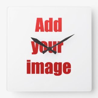Add your image wall clocks