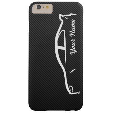 Add your name - Evolution X with Faux Carbon Fiber Barely There iPhone 6 Plus Case