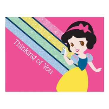 Adorable Princess Snow White Postcard