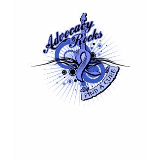 Advocacy Rocks Stomach Cancer shirt