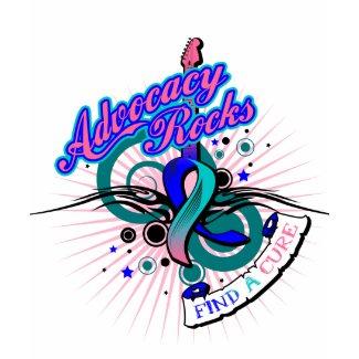 Advocacy Rocks Thyroid Cancer shirt
