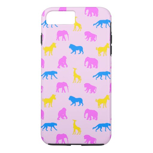 Africa Pattern Pink iPhone 7 Plus Case