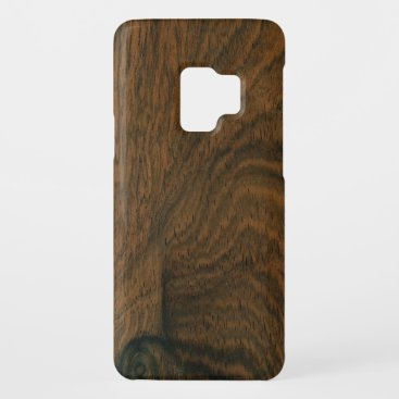 Aged Mahogany Wood Texture Case-Mate Samsung Galaxy S9 Case