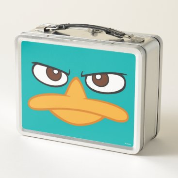 Agent P Face Metal Lunch Box