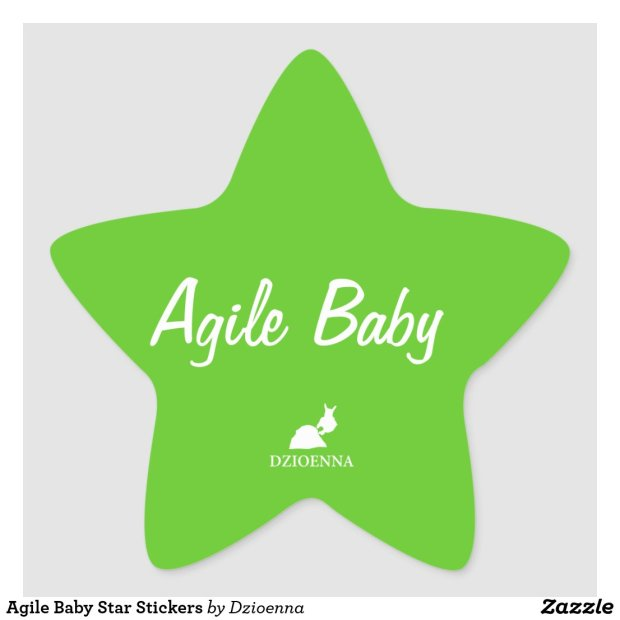 Agile Baby Star Stickers