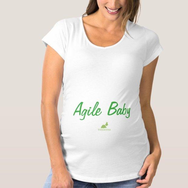 Agile Pregnancy Tee