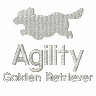 Agility Golden Retriever Hoodie