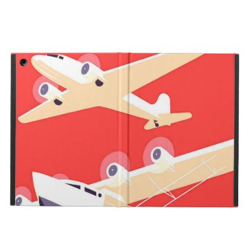 Airplanes Flying Vintage Propeller Planes iPad Air Case