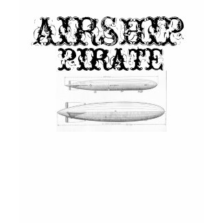 Airship Pirate shirt