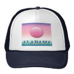 Alabama Airbrush Sunset hats