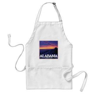 Alabama Dark Sunset Apron