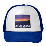 Alabama Dark Sunset hats