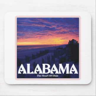 Alabama Dark Sunset Mousepad