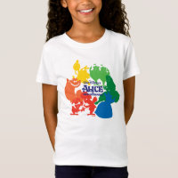 Alice in Wonderland - Character Silhouettes T-Shirt