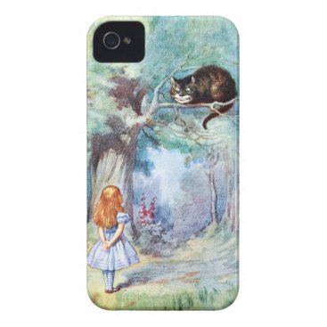 Alice in Wonderland Cheshire Cat iPhone 4 Case