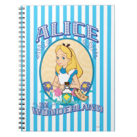 Alice in Wonderland - Frame Notebook