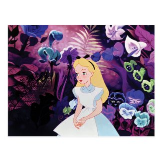 Alice in Wonderland Garden Flowers Film Still