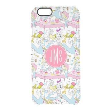 Alice in Wonderland | Oversized Pattern Clear iPhone 6/6S Case