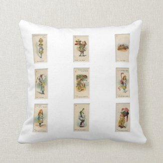 Alice in Wonderland Pillows