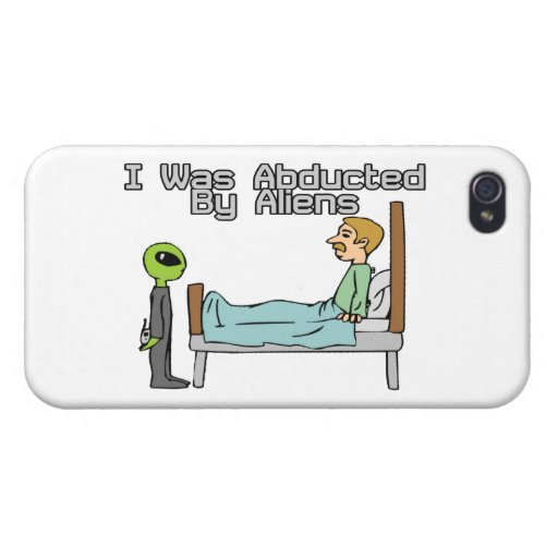 Alien Abduction Cases For iPhone 4 | Zazzle