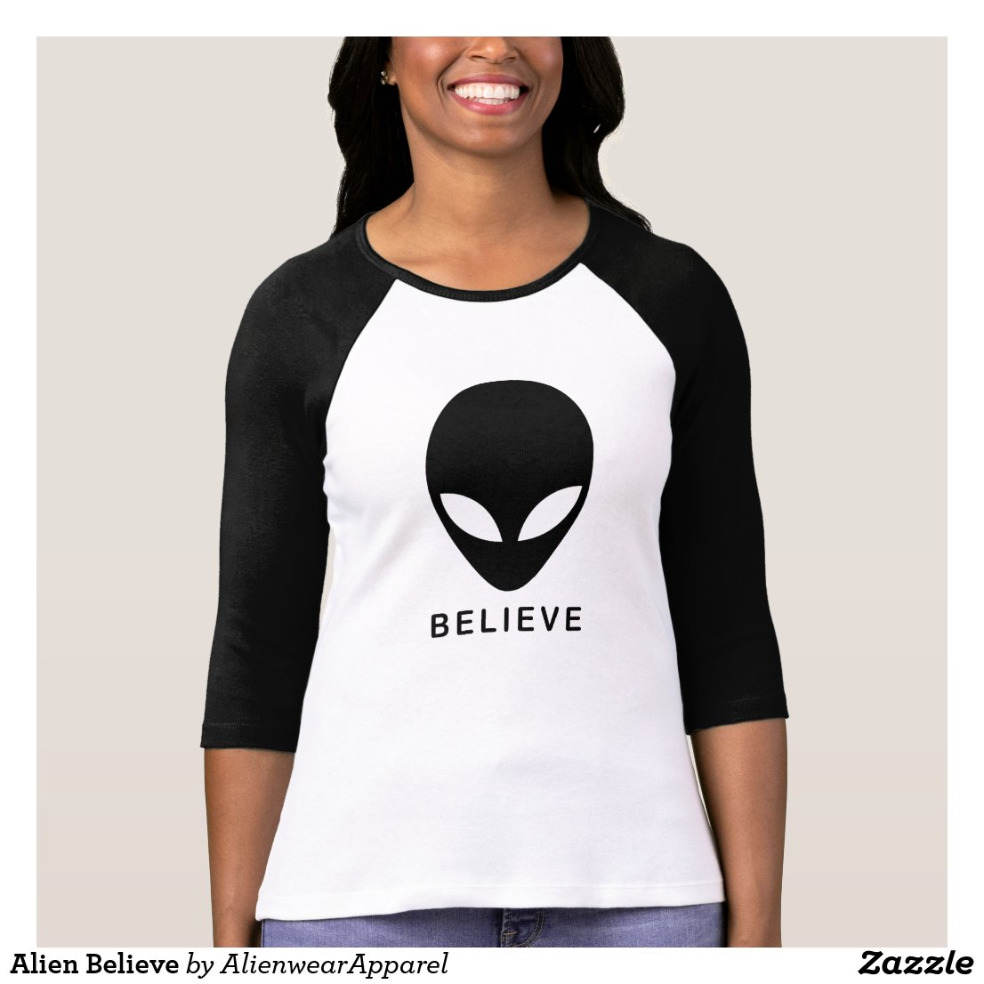 Alien Believe T-Shirt