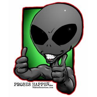 aliengray-smiley-thumbsup-wimmin-tshirt shirt