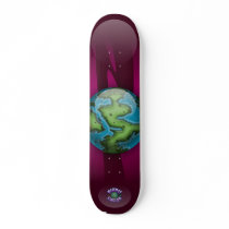Alien's Board - Planet Cazmo skateboards